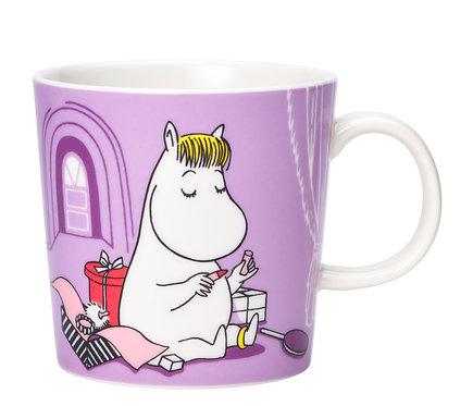 Moomin кружка Фрекен Снорк, 0,3 л. фиолетовая