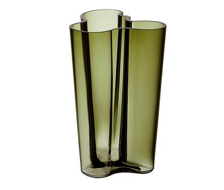 Ваза Коллекция Alvar Aalto 251 мм, зеленый мох
