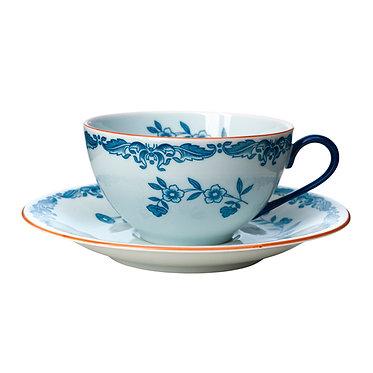 Чайная пара Ostindia, чашка с блюдцем