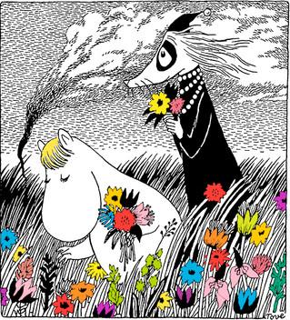 Волшебство с Муми-Троллями в дни летнего солнцестояния.