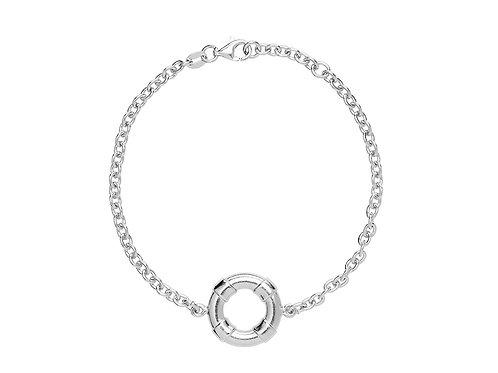 Браслет Муми в море, серебряный