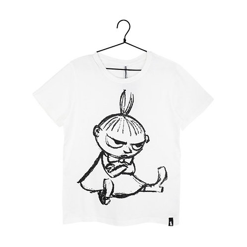 Moomin Футболка Sketch Малышка Мю белая