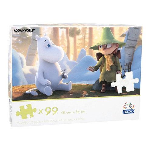 "Moomin Пазл ""Долина Муми-троллей"" 99 деталей"