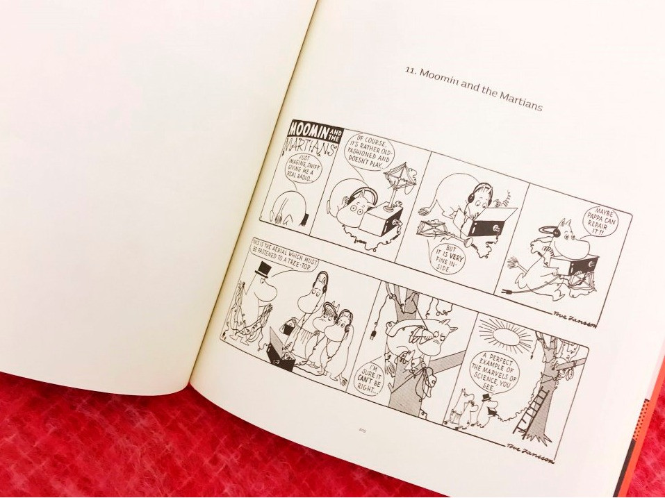 Комиксы с Муми-Троллями