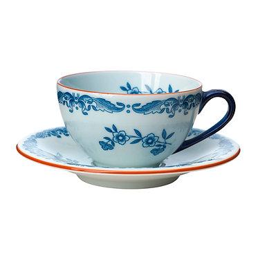 Кофейная пара Ostindia, чашка с блюдцем