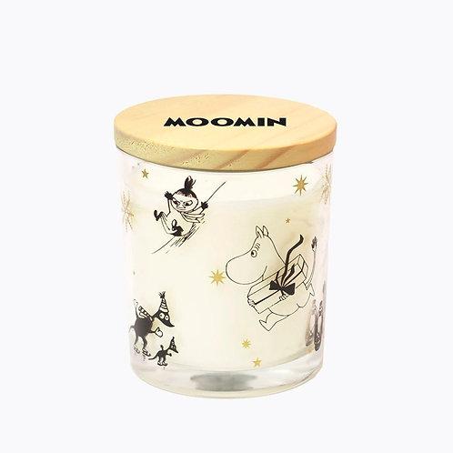 Подсвечник и Ароматическая Moomin свеча «Муми-зима».