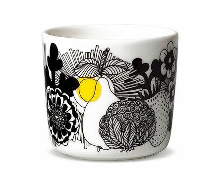 Кофейная чашка Marimekko Siirtolapuutaha Черно / желтая