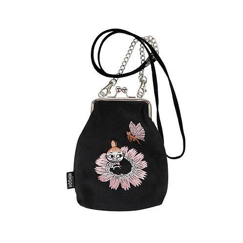 Moomin сумочка Малышка Мю и бабочка, черная
