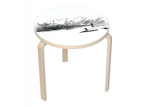 Столик Муми-тролль на берегу