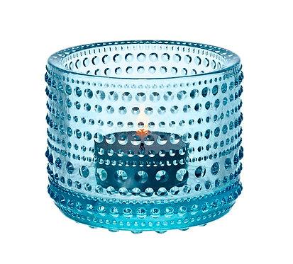 Kastehelmi Подсвечник 64 мм. светло-голубой