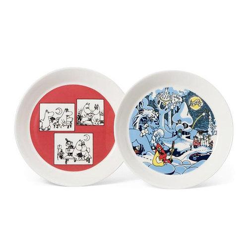 НАБОР коллекционных тарелок Rose & Millennium, 2 шт.