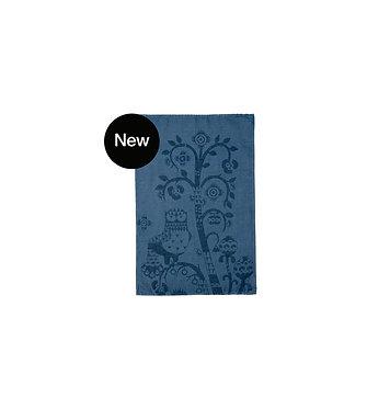 Кухонное полотенце 43x67 см синее