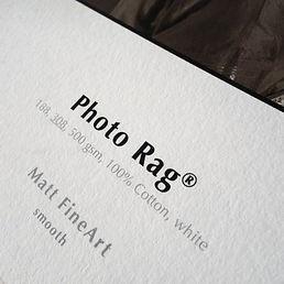 Hahnemuhule Photo Rag Paper