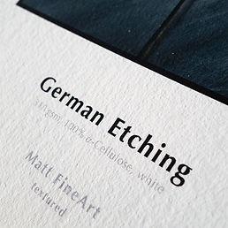 Hahnemuhule German Etching Paper