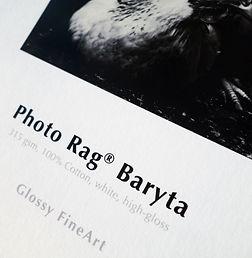 Hahnemuhule Photo Rag Baryta Paper