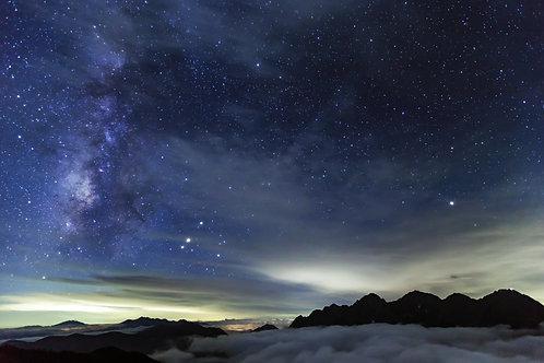 天上の夜に魅せられて