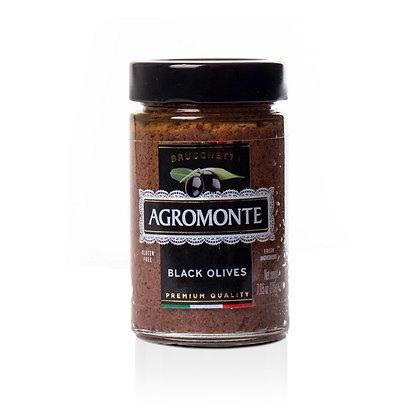 Agromonte Bruschetta Of Black Olives - 7.05 oz.