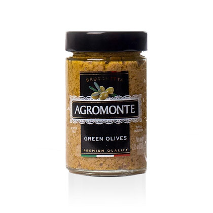 Agromonte Bruschetta of Green Olives - 7.05 oz.