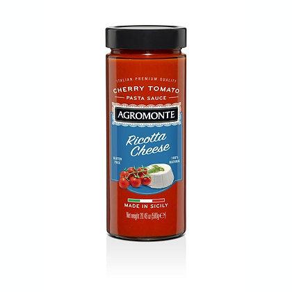 Agromonte Ricotta Cheese Cherry Tomato Pasta Sauce - 20.46 oz