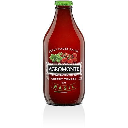 Agromonte Ready Cherry Tomato Pasta Sauce with Basil - 11.64 oz.