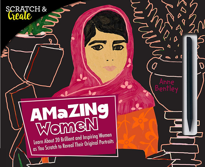 AMAZING WOMEN (SCRATCH & CREATE)
