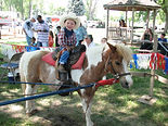 Pony Rides at Offutt Base Lake Event