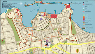 Old Harbour of Chania map