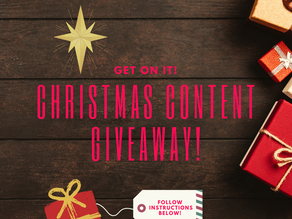 Christmas Content Giveaway!