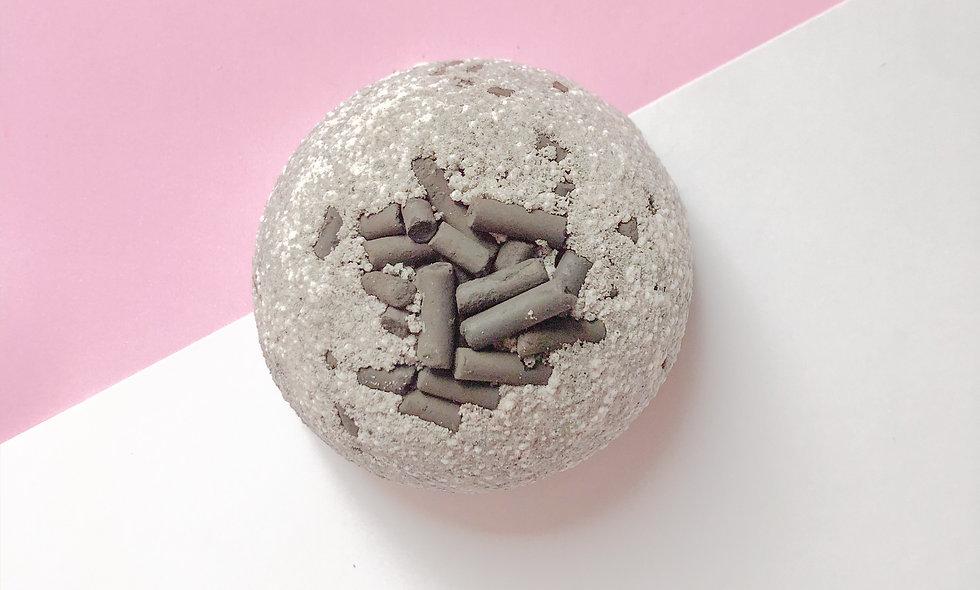bomba de banho de carvão 140g