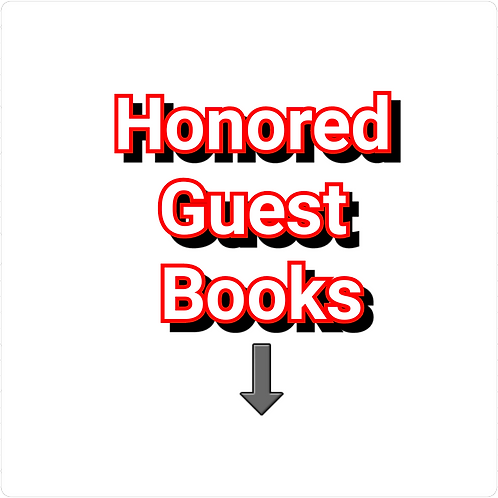 Honored Guest Books