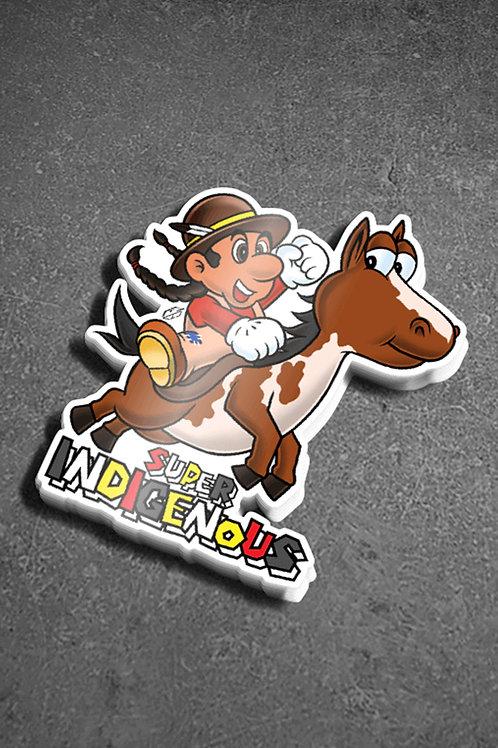 Super Indigenous Sticker