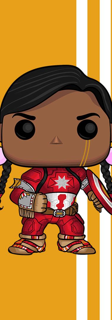 Funko Pop Captain Indigenous