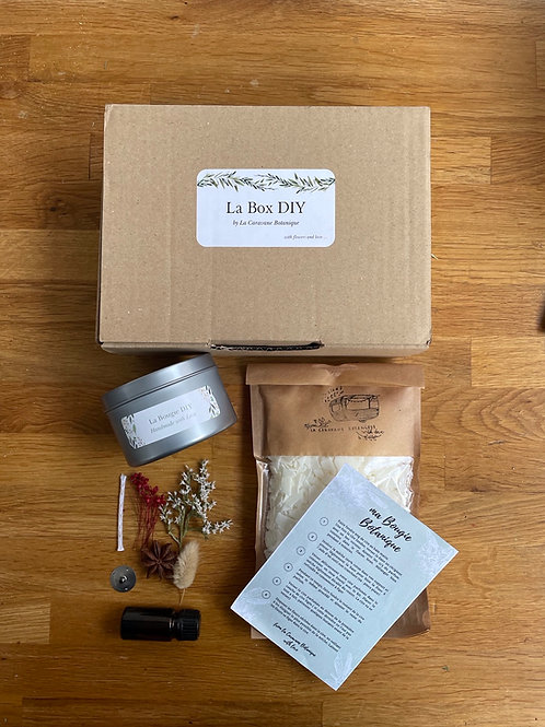 Kit DIY Bougie Fleurie