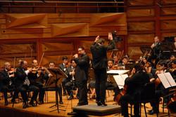 P. Bernold and the SB Symphony