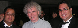 With Simon Rattle