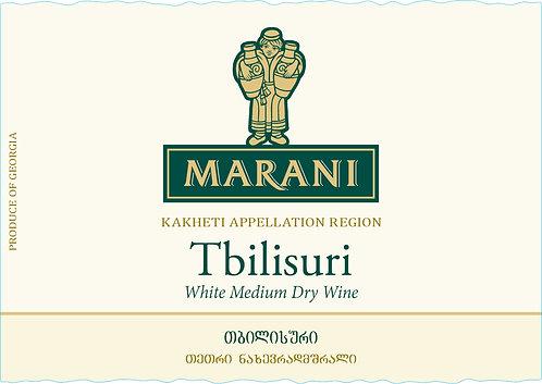 Marani Tbilisuri - Semi-Dry - Rkatsiteli 90%, Mtsvane 10%