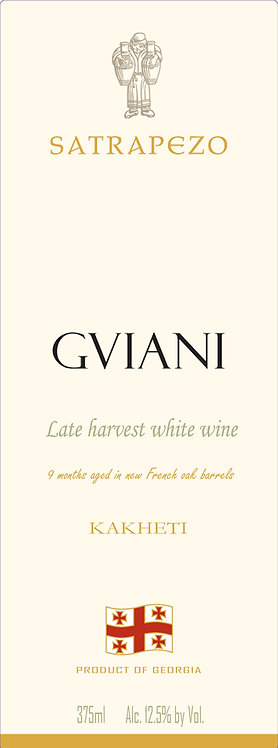 Marani Satrapezo Gviani late harvest - Sweet - Rkatsiteli 100%