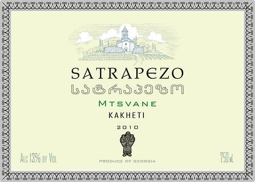 Satrapezo Mtsvane Qvevri - Dry - Mtsvane 100%
