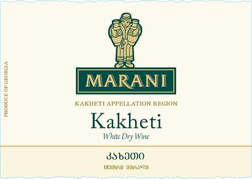 Marani Kakheti - Dry - Rkatsiteli 100%