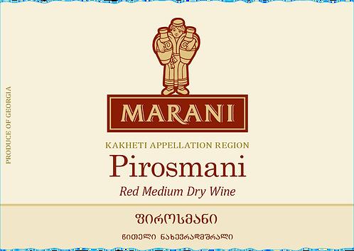 Marani Pirosmani - Semi-Dry - Saperavi 100%