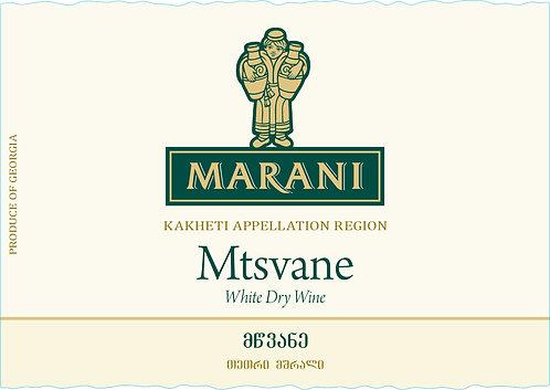 Marani Mtsvane - Dry - Mtsvane 100%