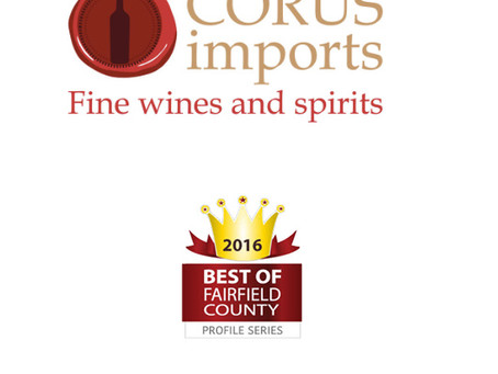 Corus Imports had been recognized by THE BEST OF FAIRFIELD COUNTY