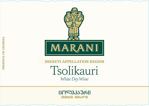 Marani Tsolikauri - Dry - Tsolikauri 100%