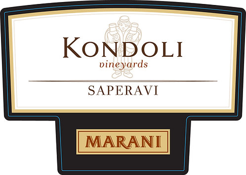 Marani Kondoli Saperavi - Dry - Saperavi 100%