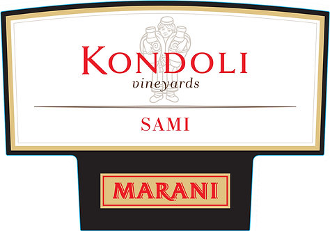 Marani Kondoli Sami - Dry - Alexandreuli 50%, Saperavi 25%, Merlot 25%