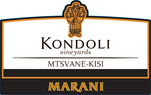 Marani Kondoli Mtsvane-Kisi - Dry - Mtsvane 50%, Kisi 50%
