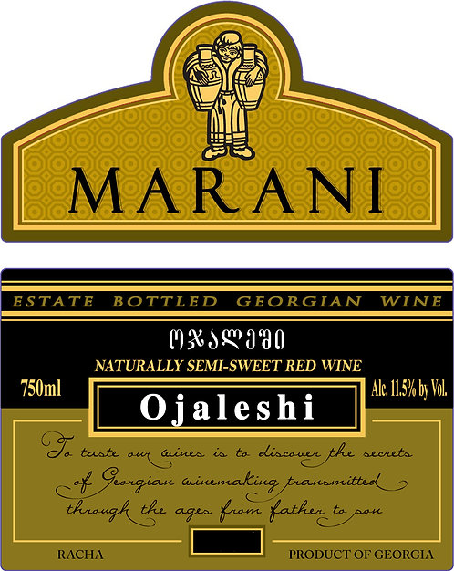 Marani Odjaleshi - Semi-Sweet - Ojaleshi 100%