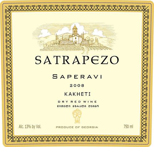 Satrapezo Saperavi Qvevri - Dry - Saperavi 100%