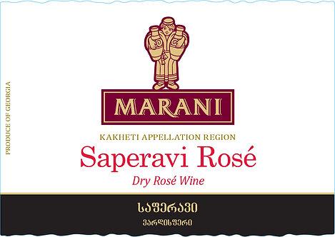 Marani Saperavi Rose - Dry - Saperavi 100%