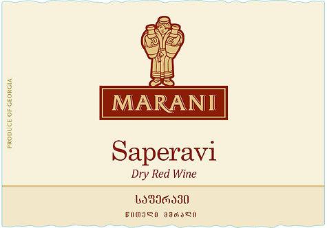 Marani Saperavi - Dry - Saperavi 100%
